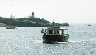Enjoy a lobstering tour aboard the King Eider!